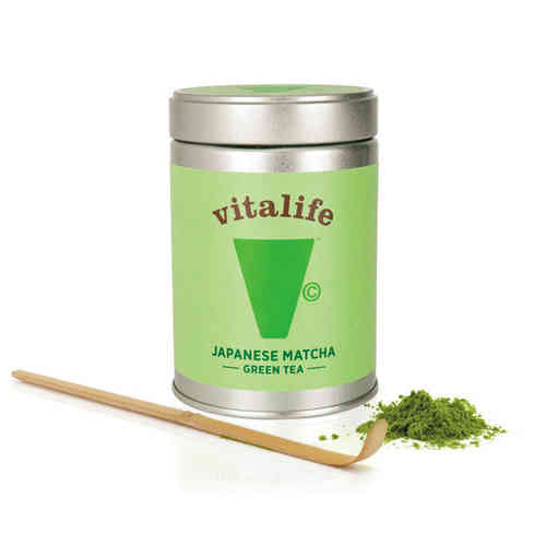 80g Vitalife Japanese Matcha Green Tea Powder (Ceremonial Grade)