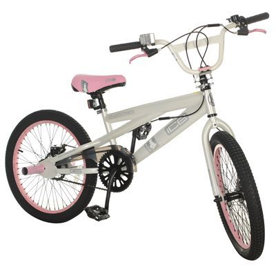 Bike Pegs on 20 Inch Silverfox Ice Tech Bmx With 360 Gyro System And Stunt Pegs For