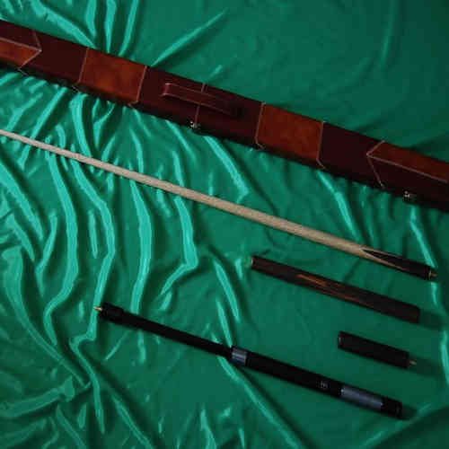 Handmade 4 piece GRADE A Ash Snooker/Pool Cue Complete Set
