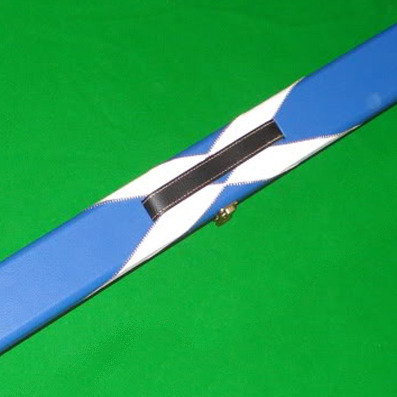 Quality Hand Crafted 1 piece Leather ST ANDREWS Hard Snooker Cue Case