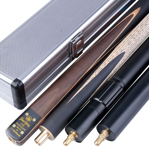 "Handmade Air Release 3/4 Piece 57"" Multi-spliced Canadian Ash Snooker/Pool Cue Complete Set"