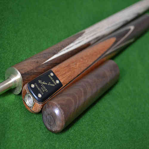 "58.5"" Handmade Multi-Spliced Phoebe and Rosewood Snooker Cue with North American Ash Shaft"