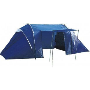 man tent with 2 bedrooms and living area bennetts direct ltd