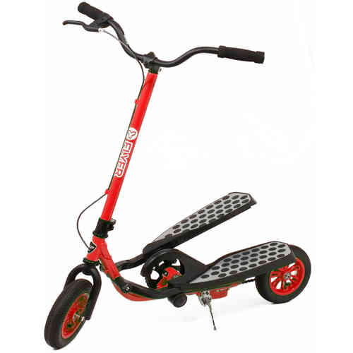 Genuine Yvolution Y Flyer Stepper Scooter - Red and Black