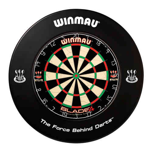 Winmau Professional Dartboard Surround with Printed Winmau Logo in Black.