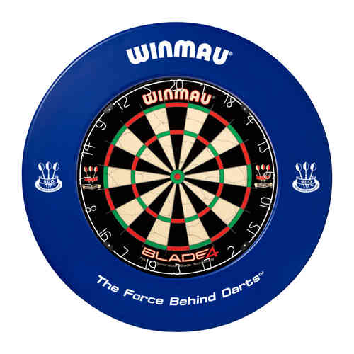 Winmau Professional Dartboard Surround with Printed Winmau Logo in Blue.