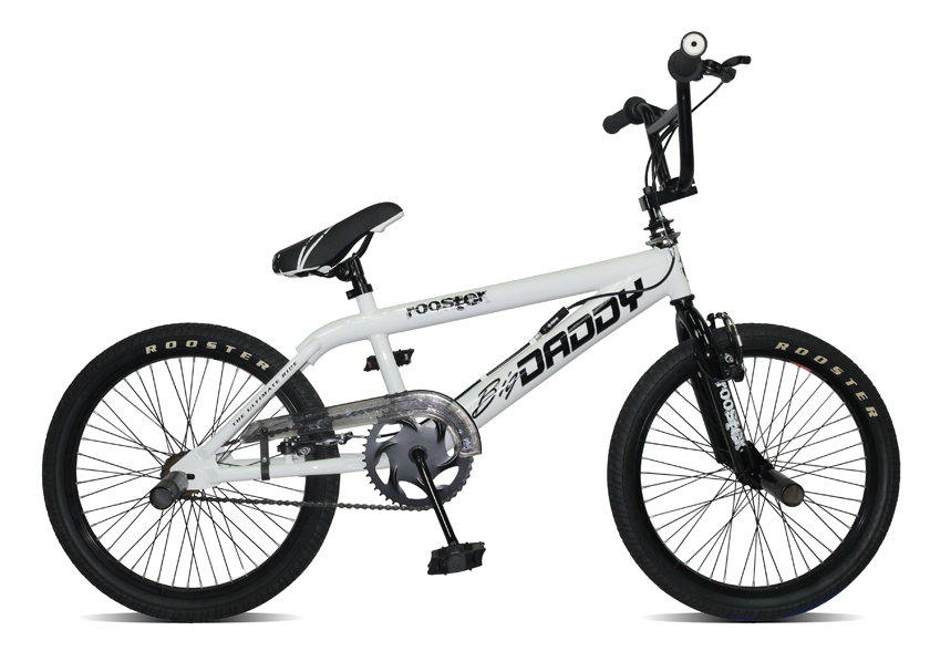 Boys 11 Quot Rooster Big Daddy Freestyler Bmx With 20 Quot Spoked