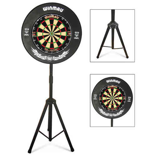 Top Quality Darts Caddy, Portable Dartboard Stand for the Serious Darts Players - STAND ONLY