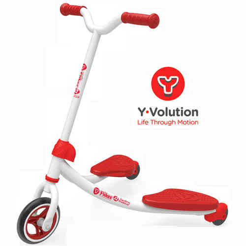 Y Fliker J2 Junior Scooter - Red