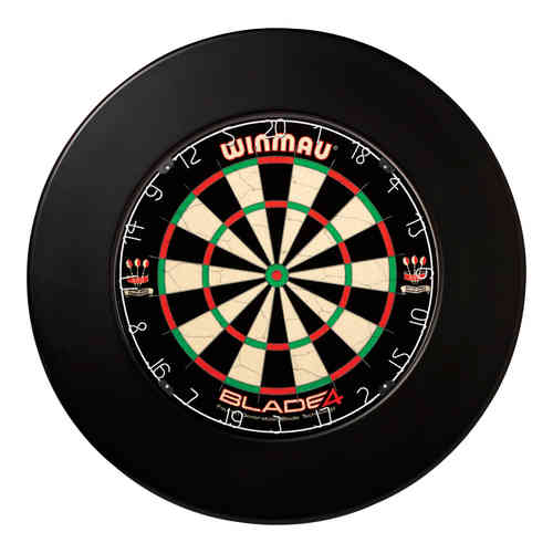 Winmau Professional Plain Dartboard Surround - Black