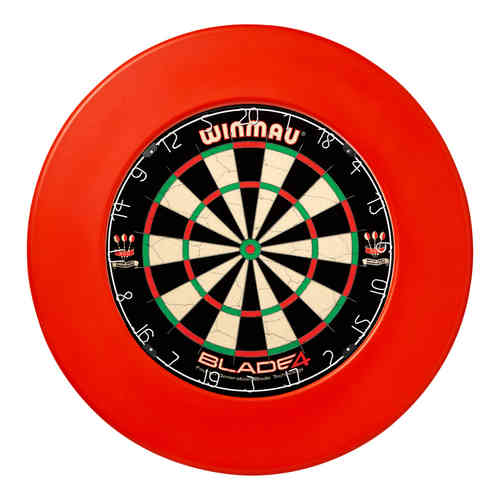 Winmau Professional Plain Dartboard Surround - Red