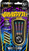 Graffiti 85% Tungsten Professional Steel Tip Darts in 24 Grams by Winmau