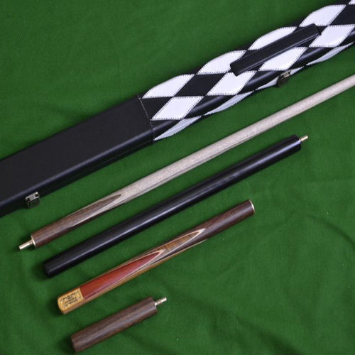 Handmade 4 piece Snooker Cue (Rosewood) - Case - Mini Butt - Extension