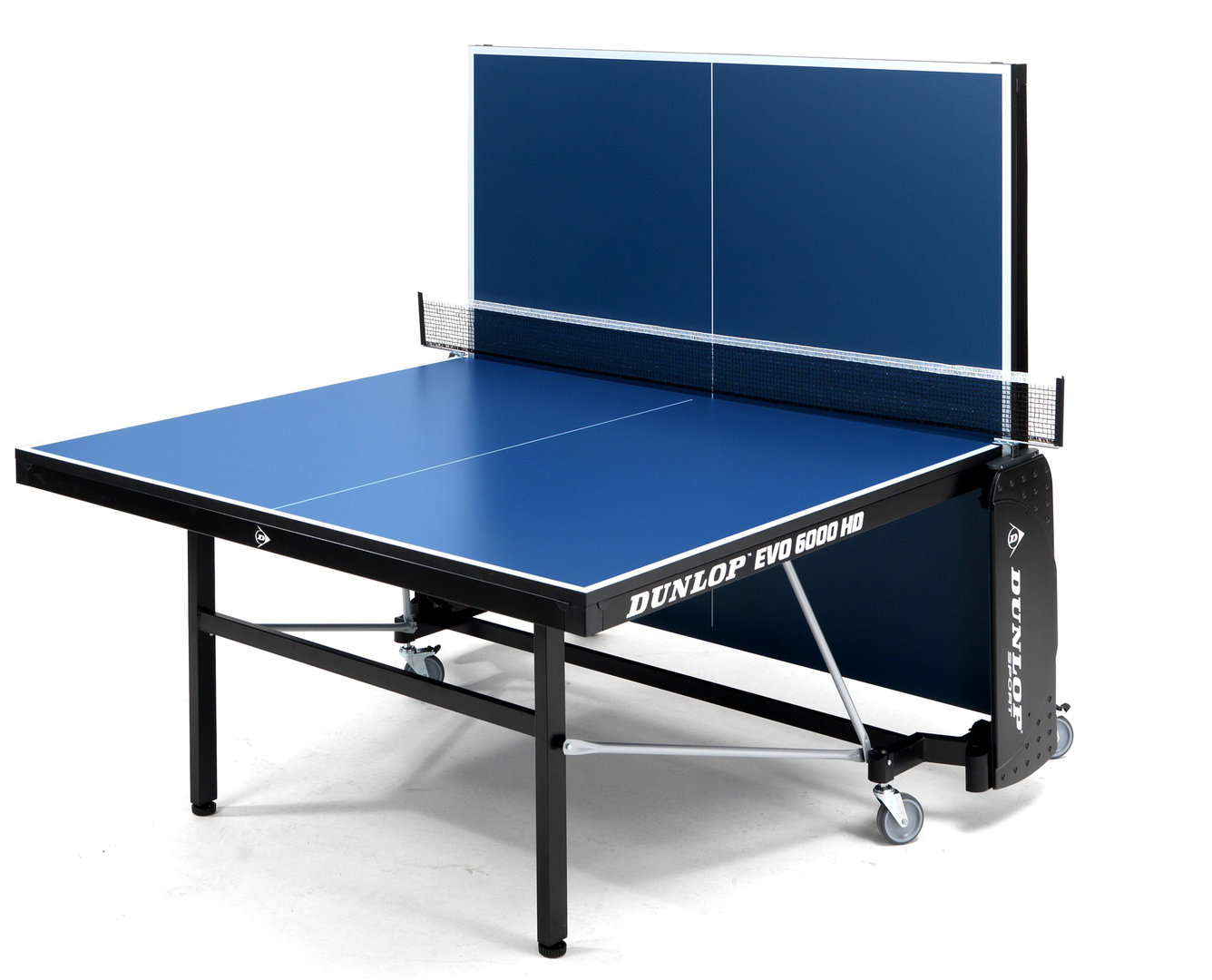Dunlop evo 6000 hd full size indoor table tennis table in - Full size table tennis table dimensions ...