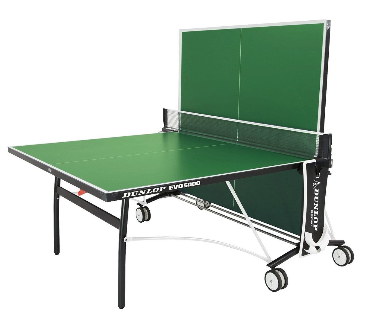 Dunlop evo 5000 full size outdoor table tennis table in green with bats balls and net included - Dimensions of a table tennis board ...