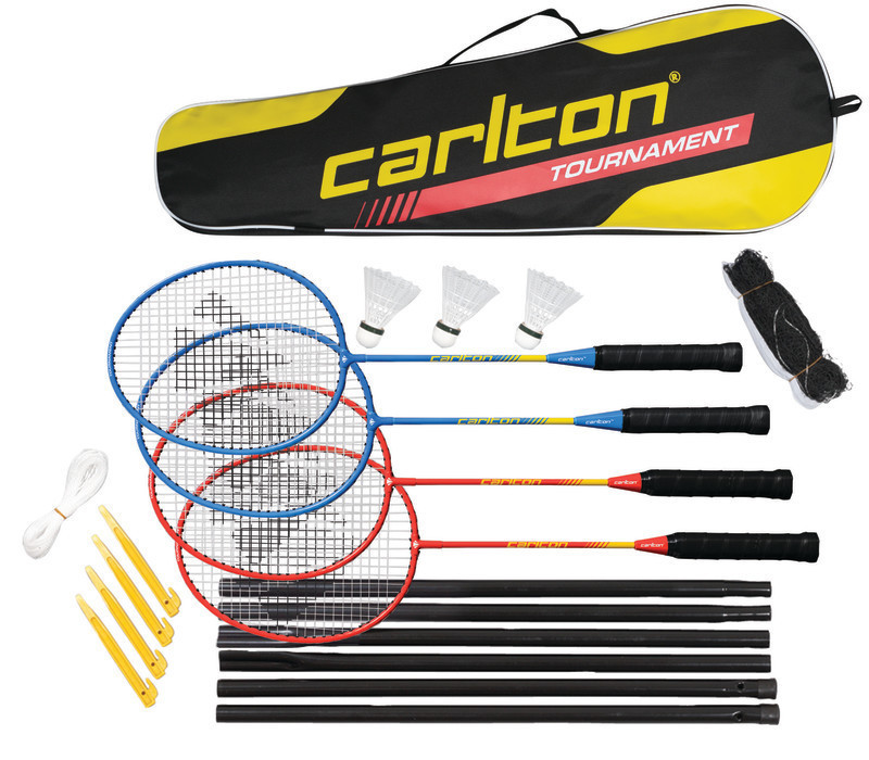 Carlton 4 Player Complete Badminton Tournament Set - Bennetts Direct Ltd 6626ae20cd9ba