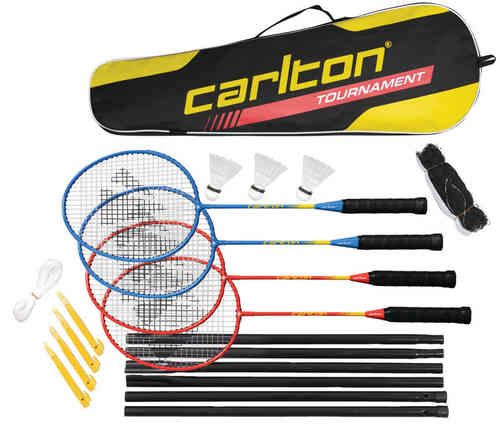 Carlton 4 Player Complete Badminton Tournament Set