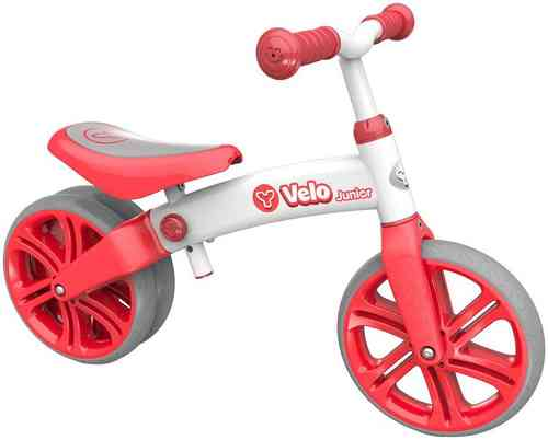 Childrens Y Velo Junior Balance Bike in Red - 18-48 Months