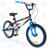 "Silverfox Plank 2.0 18"" Freestyle BMX - Black and Blue"