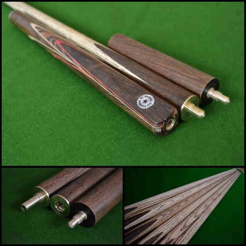 "57"" Handmade/Hand-Spliced Snooker Cue (Butt: Multi Spliced Rosewood)"