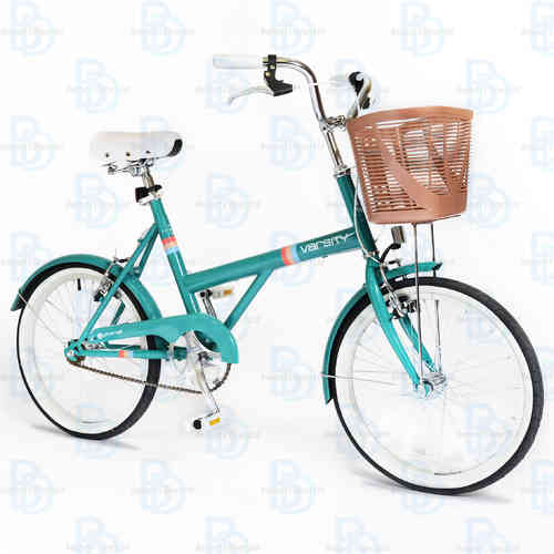 "Universal Varsity 20"""" Ladies Shopping Bike - (Colour: Teal) - Basket - Mudguards"