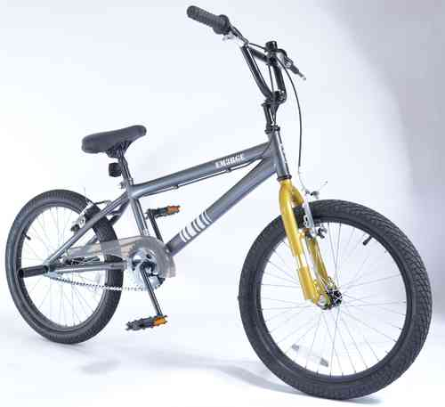 "Bigfoot Emerge 20"" BMX Bike - Charcoal and Gold"