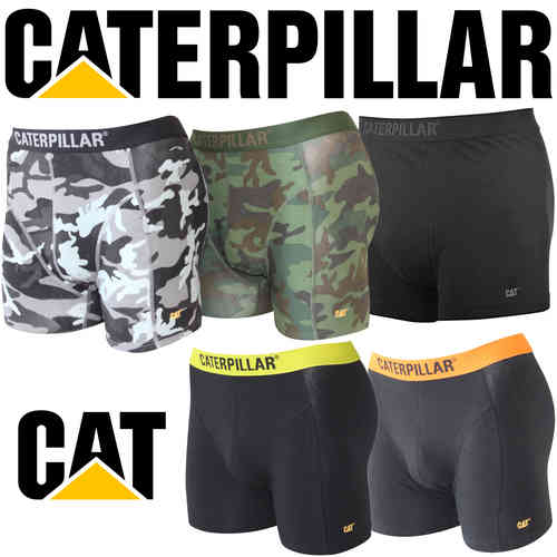 Caterpillar Deluxe Mens Boxer Shorts / Trunks Assorted 6 Pack - Large