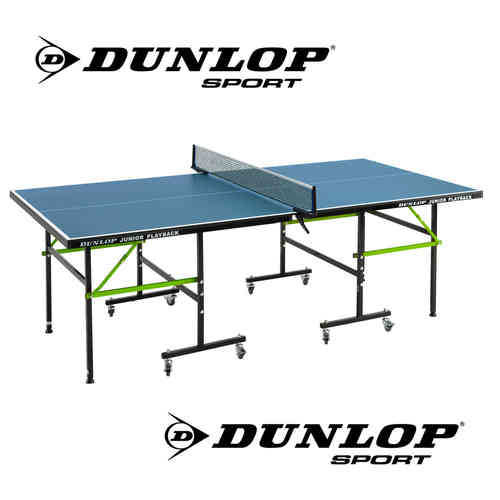 Dunlop Junior Playback Indoor Table Tennis Table Includes Bats Balls and Nets