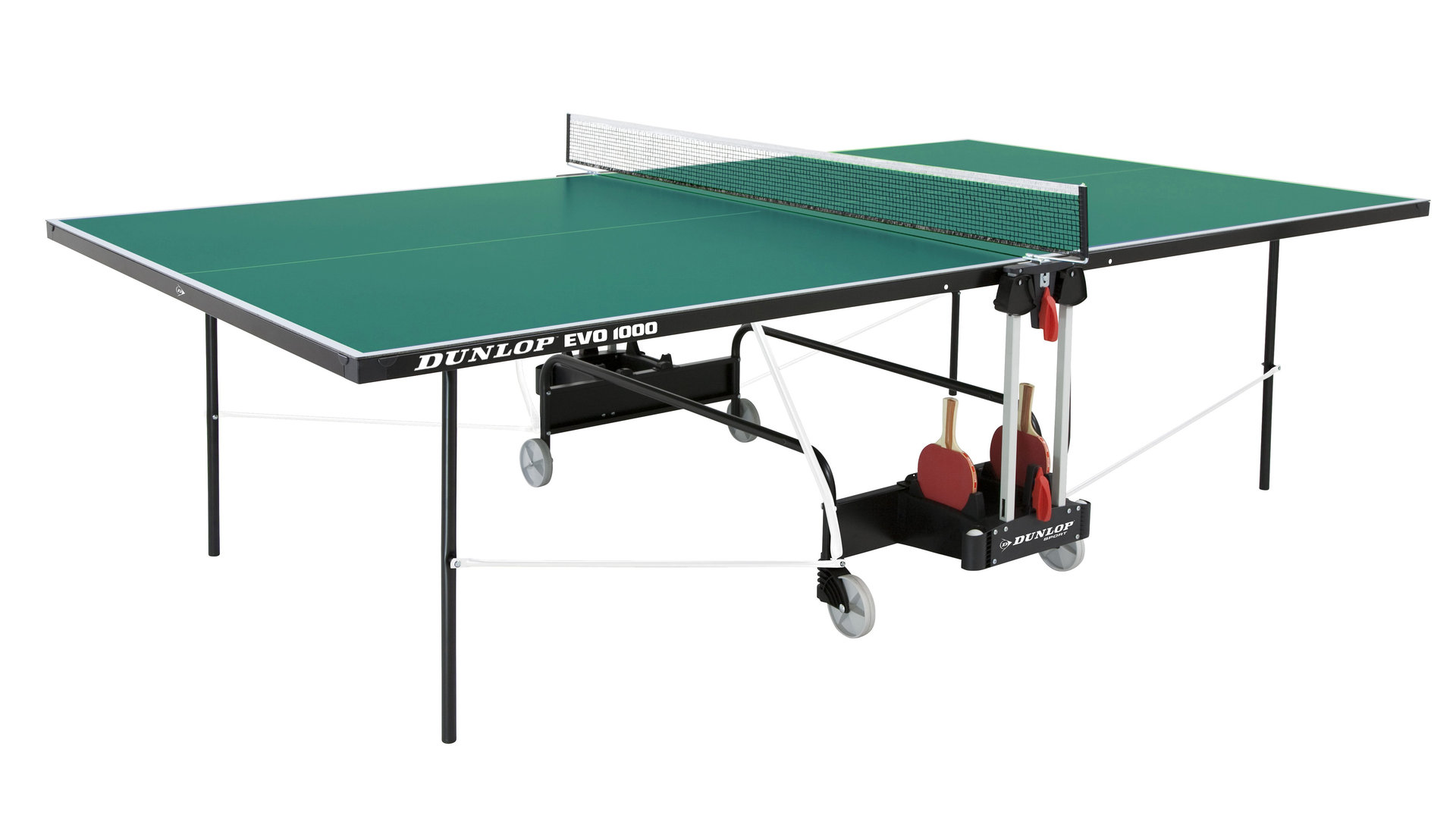 Dunlop evo 1000 full size outdoor playback table tennis - Full size table tennis table dimensions ...
