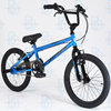 "Muddyfox Griffin 18"" BMX Bike with Stunt Pegs in Blue and Black - Boys - Exclusive New Model"