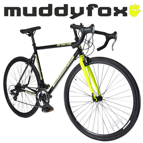 Muddyfox Road 14 Touring Bike 700c in Black and Yellow