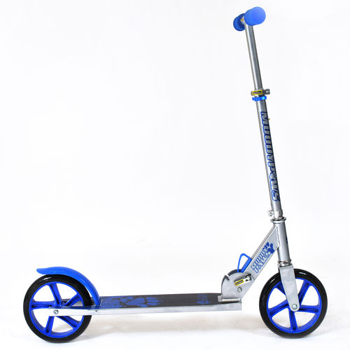 Muddypaws 200mm Kick Scooter - Silver and Blue