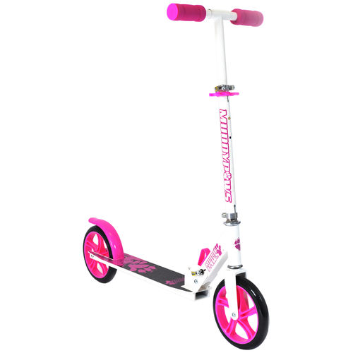 Muddypaws 200mm Kick Scooter - White and Pink