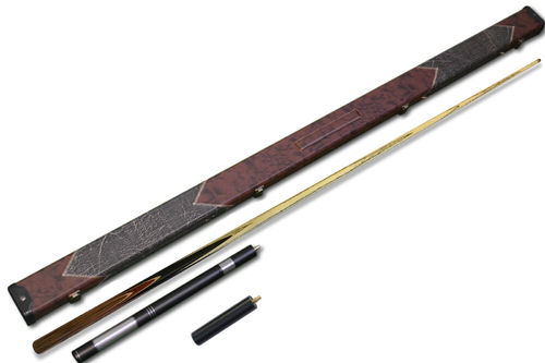 "57.1"" Handmade 1 piece Snooker Set Rosewood Butt, Case, Extension and 6"" Mini-Butt."