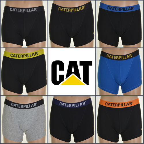 CAT Mens Boxer Shorts / Trunks - Assorted 6 Pack - All Sizes - Great Value