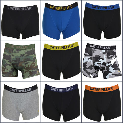 CAT Mens Boxer Shorts / Trunks - Assorted 4 Pack - All Sizes - Great Value