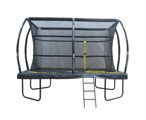 7.5ft x 10ft Telstar ELITE Rectangle Trampoline Package INCLUDING COVER, LADDER and INSTALLATION