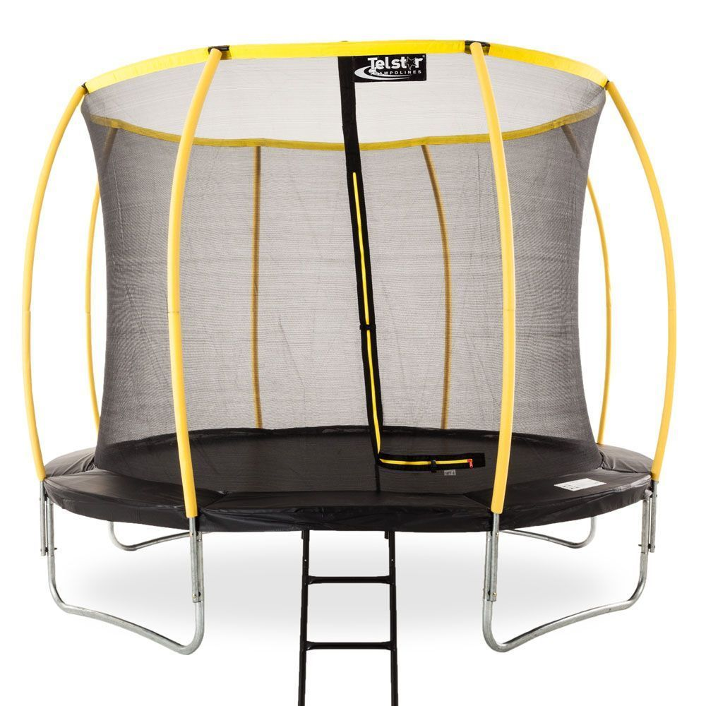 how to build a 8ft trampoline