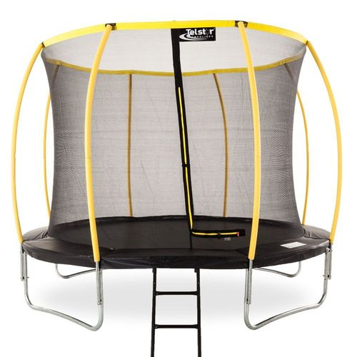 8ft Telstar Orbit Trampoline And Enclosure Package With FREE Ladder