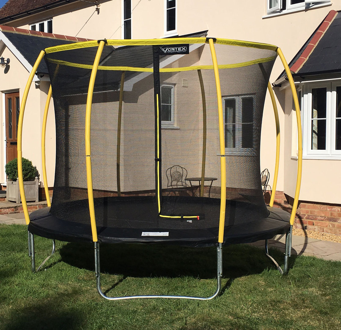 10ft Telstar Orbit Trampoline And Enclosure Package With