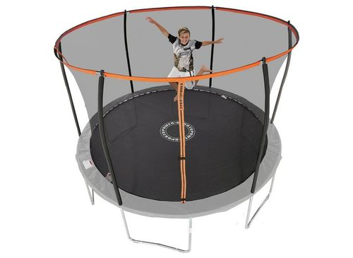12ft Trampoline With Folding Enclosure