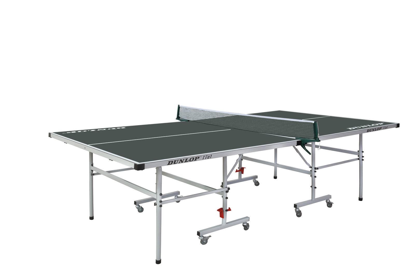 Dunlop tto1 full size outdoor table tennis table in green - Full size table tennis table dimensions ...