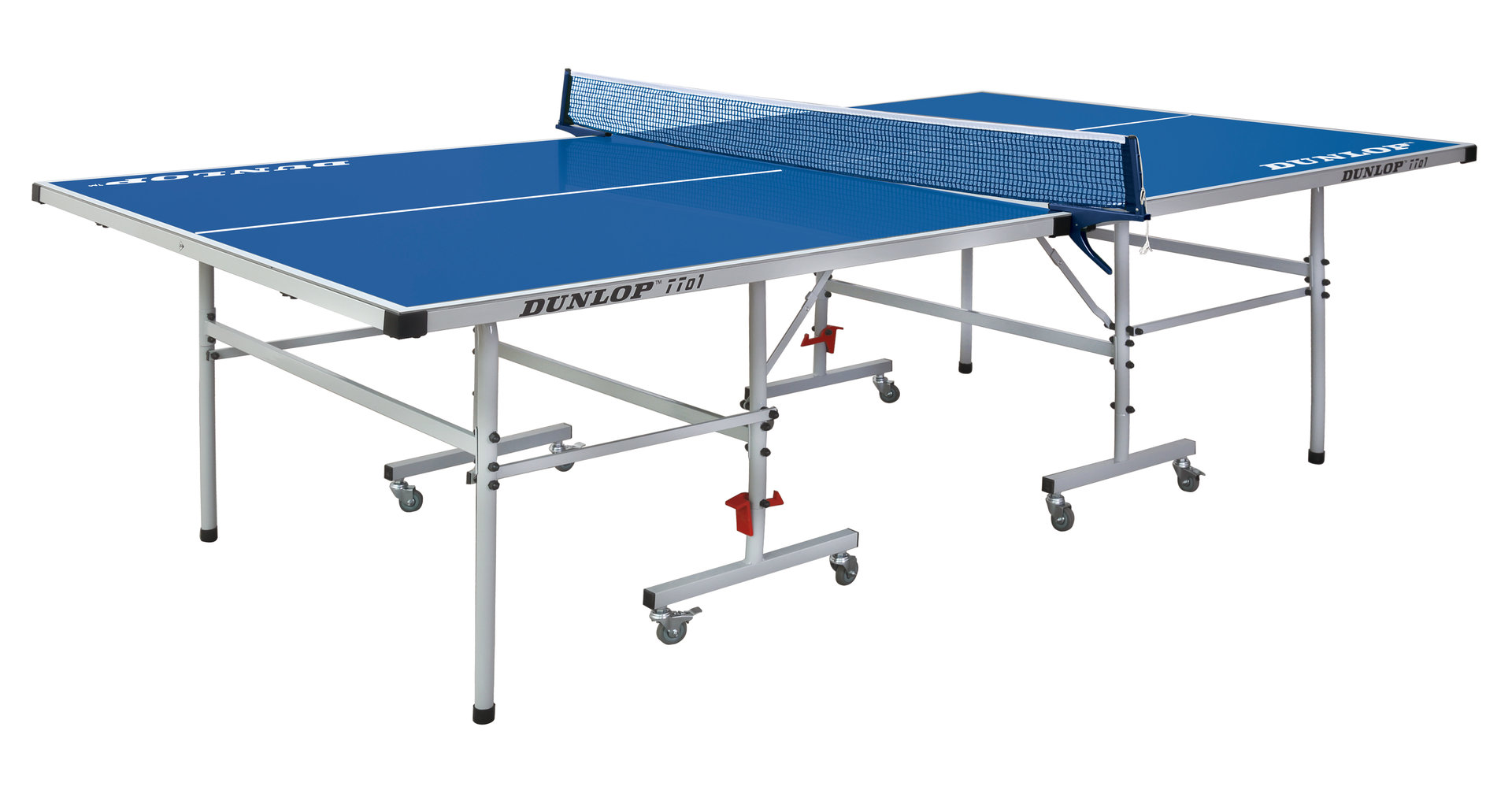 Dunlop tto1 full size outdoor table tennis table in blue - Full size table tennis table dimensions ...