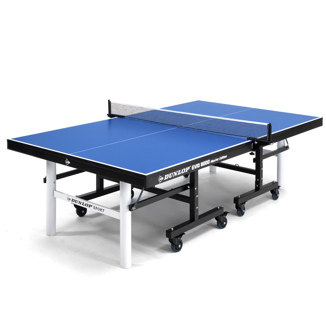 Dunlop evo 8000 me full size indoor table tennis table in - Full size table tennis table dimensions ...
