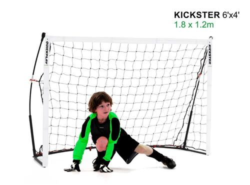 Kickster Academy 6ft x 4ft Ultra Portable Football Goal - 2 Minutes Setup