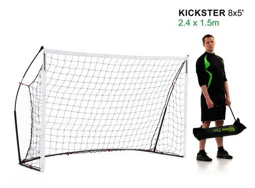 Kickster Academy 8ft x 5ft Ultra Portable Football Goal - 2 Minutes Setup