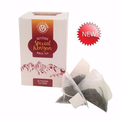 New Miracle Matcha ALTITUDE Special White Tea in Pyramid Tea Bags - 30 Bags
