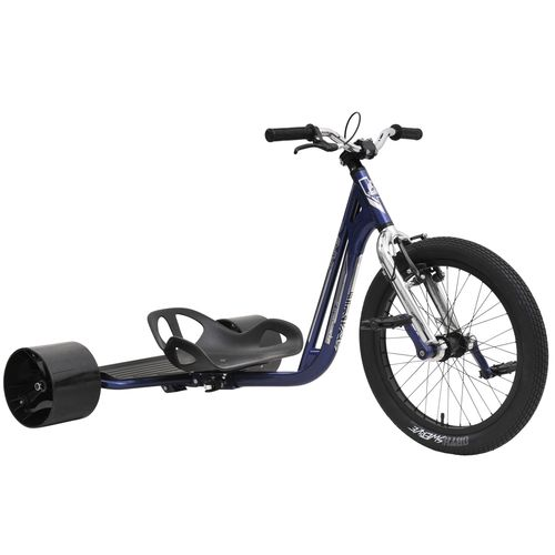 Triad Underworld Drift Trike in Blue and Chrome