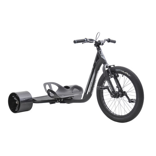 Triad Underworld Drift Trike in Black and Grey