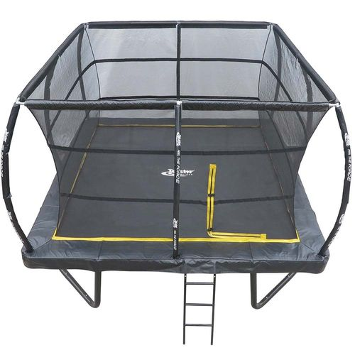12ft x 12ft Telstar ELITE Bounce Arena Trampoline Package INCLUDING COVER, LADDER and INSTALLATION